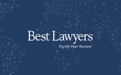 The Best Lawyers in America in their 2020 Edition
