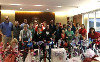Crain Caton & James Adopts over 75 HYLF Angels