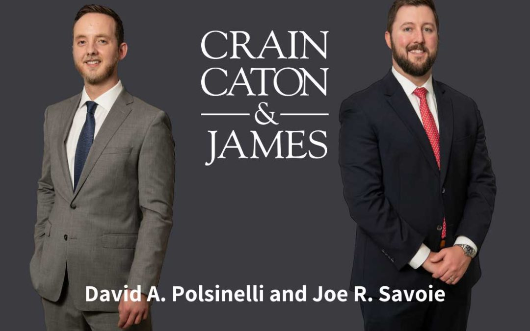 David A. Polsinelli and Joe R. Savoie Promotion