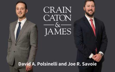 David A. Polsinelli and Joe R. Savoie Promotion