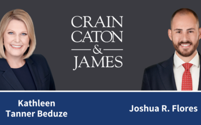 Crain Caton & James Elects Two New Shareholders